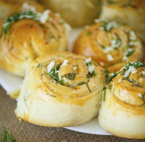 Garlic Twirls