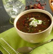pareve bean soup, chanukah recipes, Cooking for the King, Renee Chernin