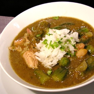 kosher chicken gumbo