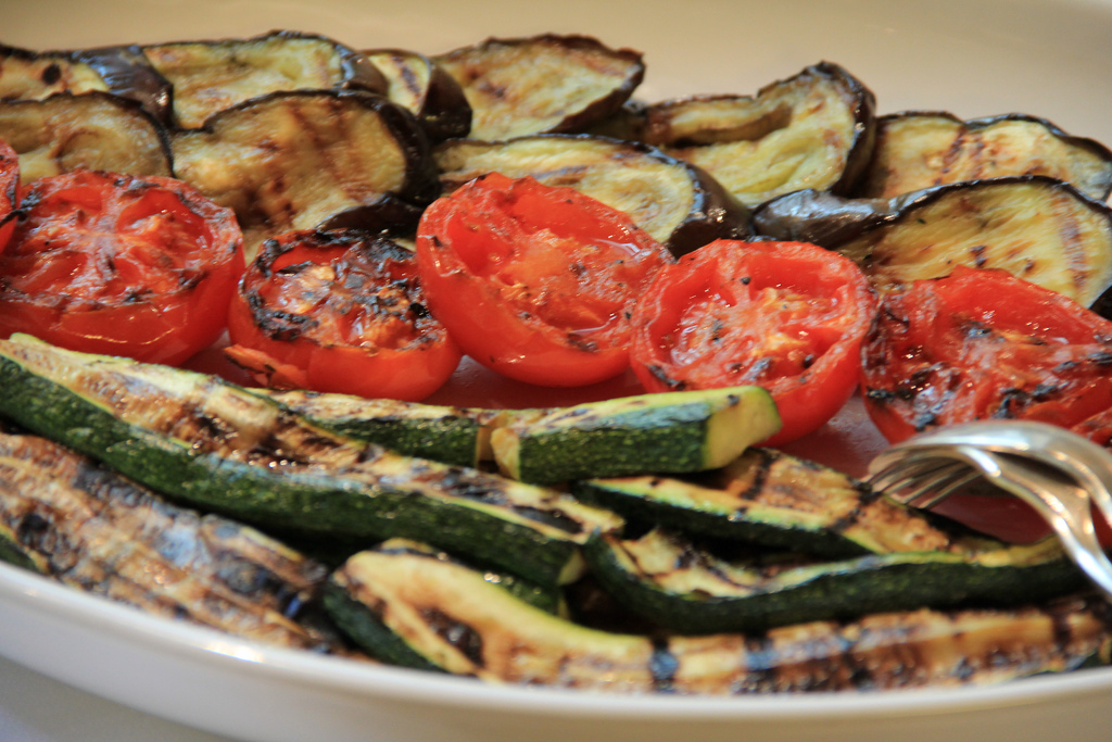 Tender Marinated Grilled Vegetable Mix