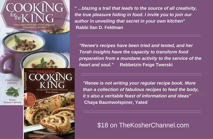 Cooking for the KIng by Renee Rousso Cherning