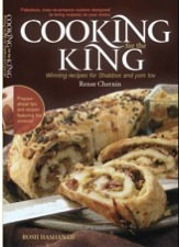 Cooking for the King, by Renee Rousso Chernin, designed to bring majesty to your menu. Rosh Hashanah cookbook with exciting new recipes for all year.