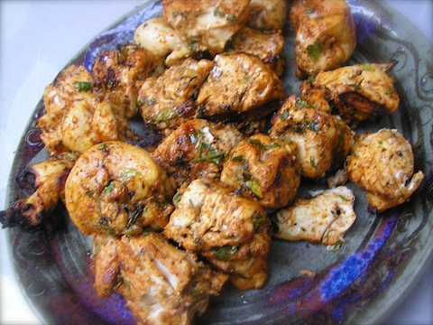 kosher coooking video and recipe for kosher chicken grilled kbabs