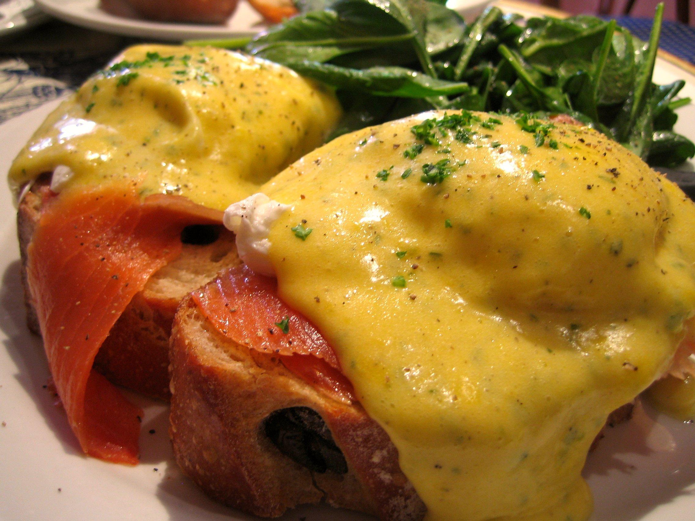 Kosher Eggs Benedict Recipe