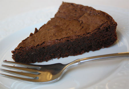 Kosher Flourless Chocolate Cake