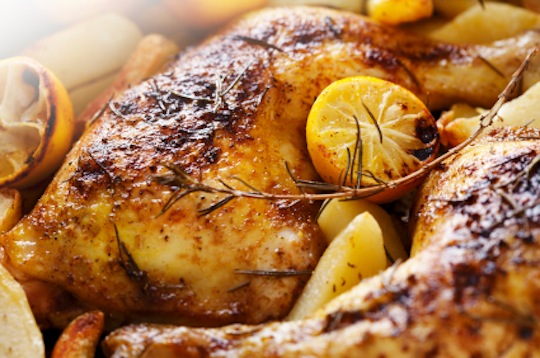 Chicken lemon and garlic recipes