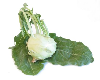 Crunchy and easy Kohlrabi Salad