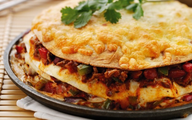 Kosher Mexican Quesadilla Pie