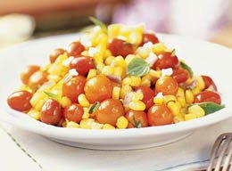 Corn and Tomato Salad goes with almost every outdoor menu