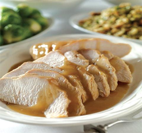 Thank You Ma'am Southern Turkey and Garlic Gravy